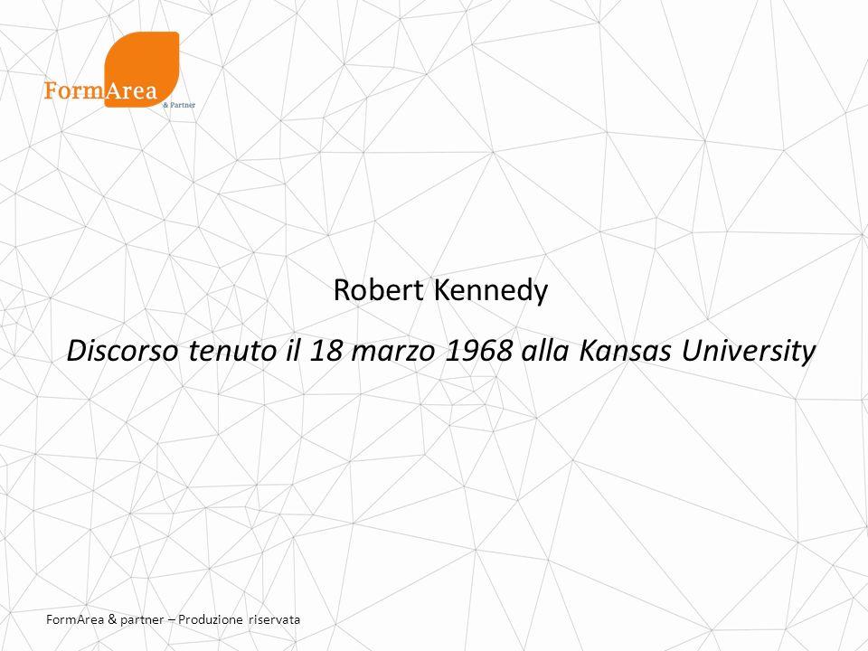 Discorso tenuto il 18 marzo 1968 alla Kansas University