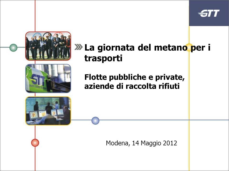 La giornata del metano per i trasporti Flotte pubbliche e private, aziende di raccolta rifiuti