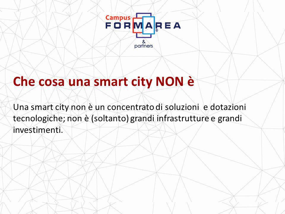 Che cosa una smart city NON è