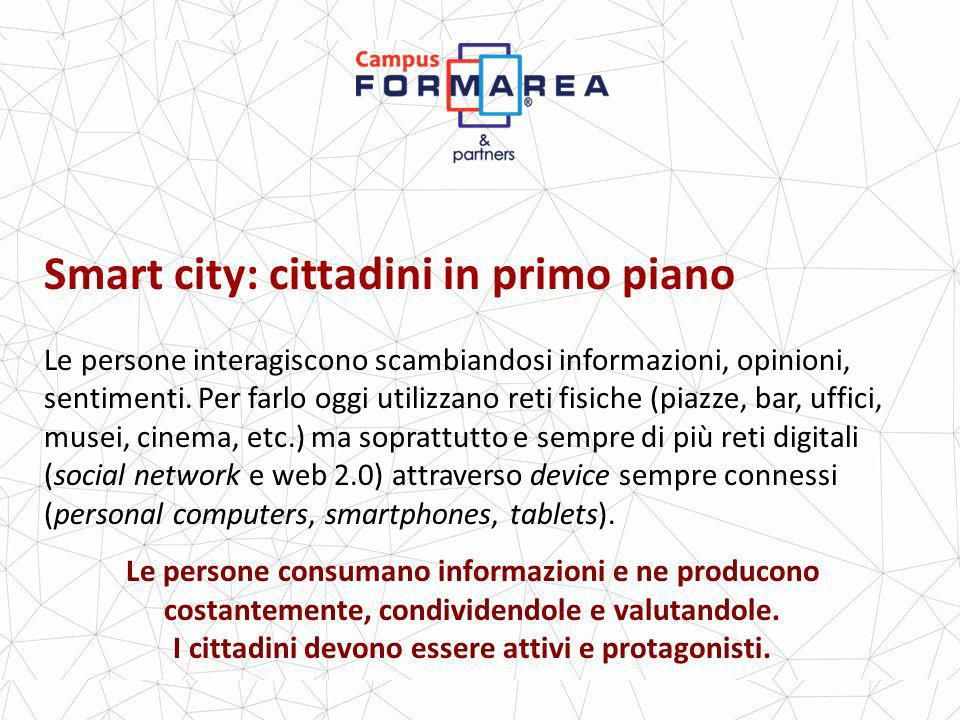 Smart city: cittadini in primo piano