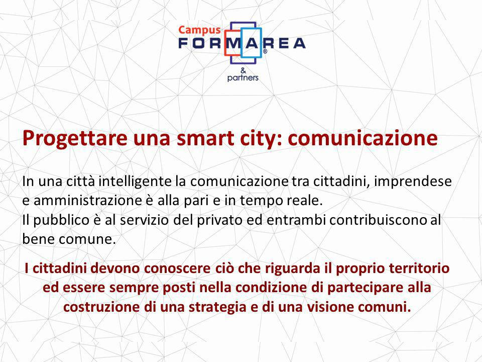 Progettare una smart city: comunicazione