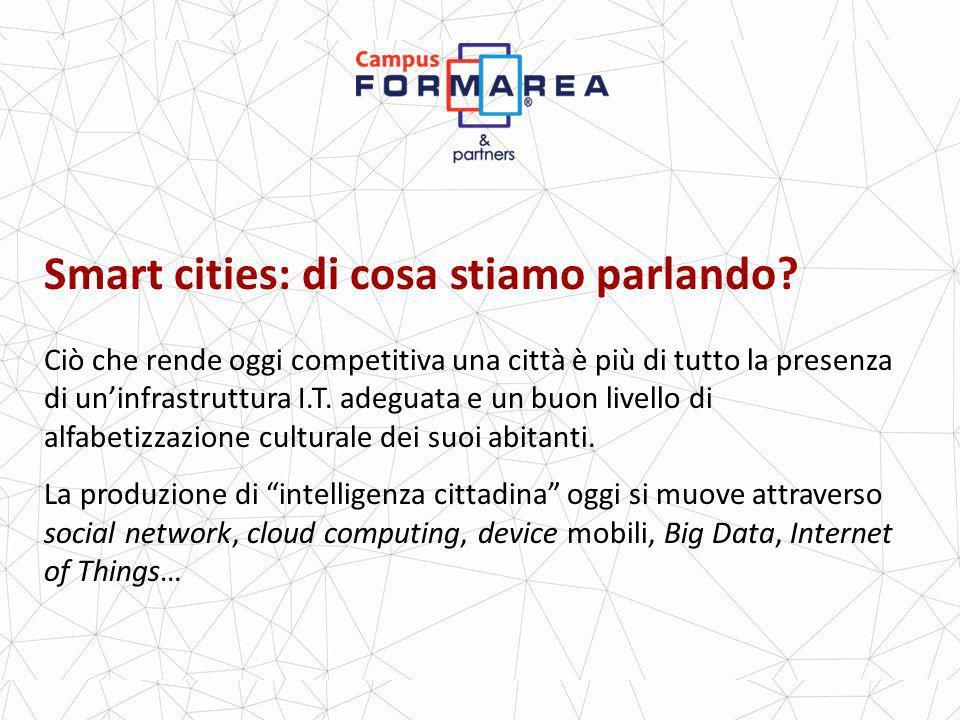 Smart cities: di cosa stiamo parlando