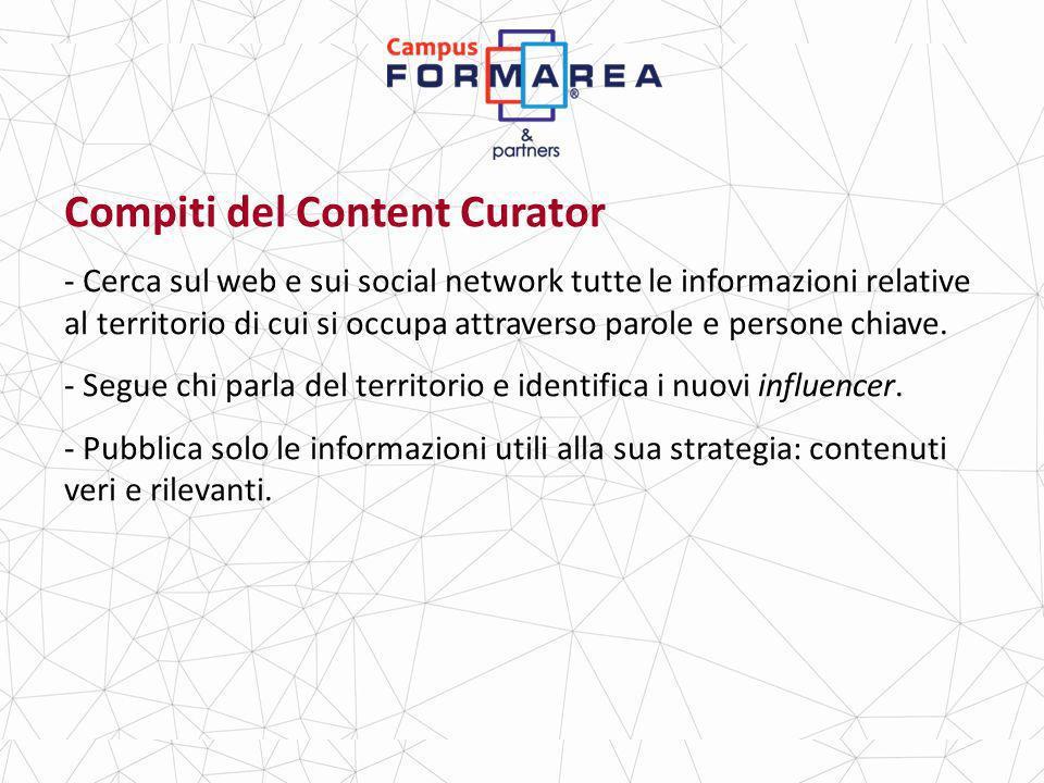 Compiti del Content Curator