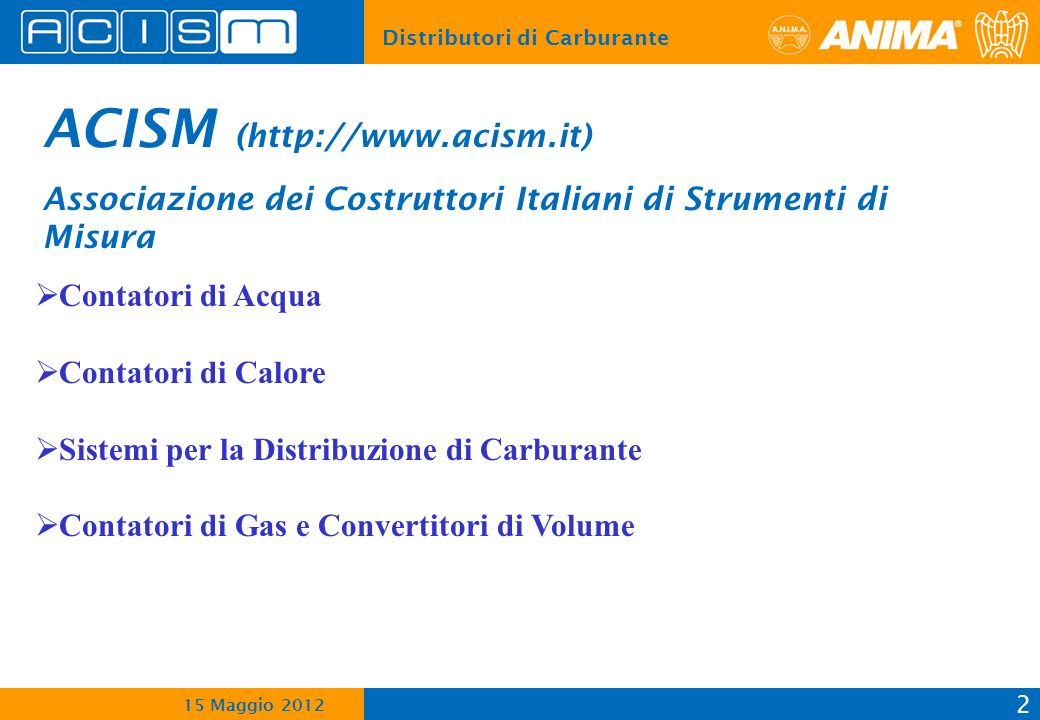 ACISM (http://www.acism.it)