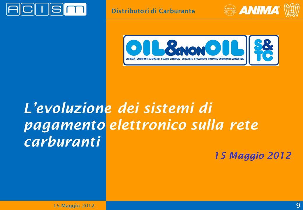 L'evoluzione dei sistemi di pagamento elettronico sulla rete carburanti