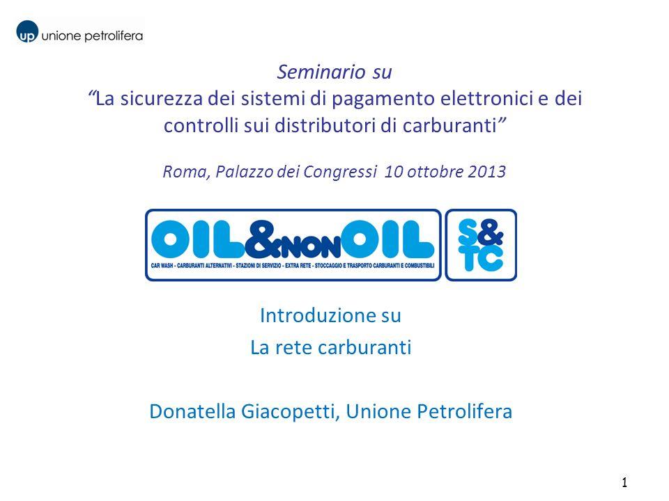 Donatella Giacopetti, Unione Petrolifera