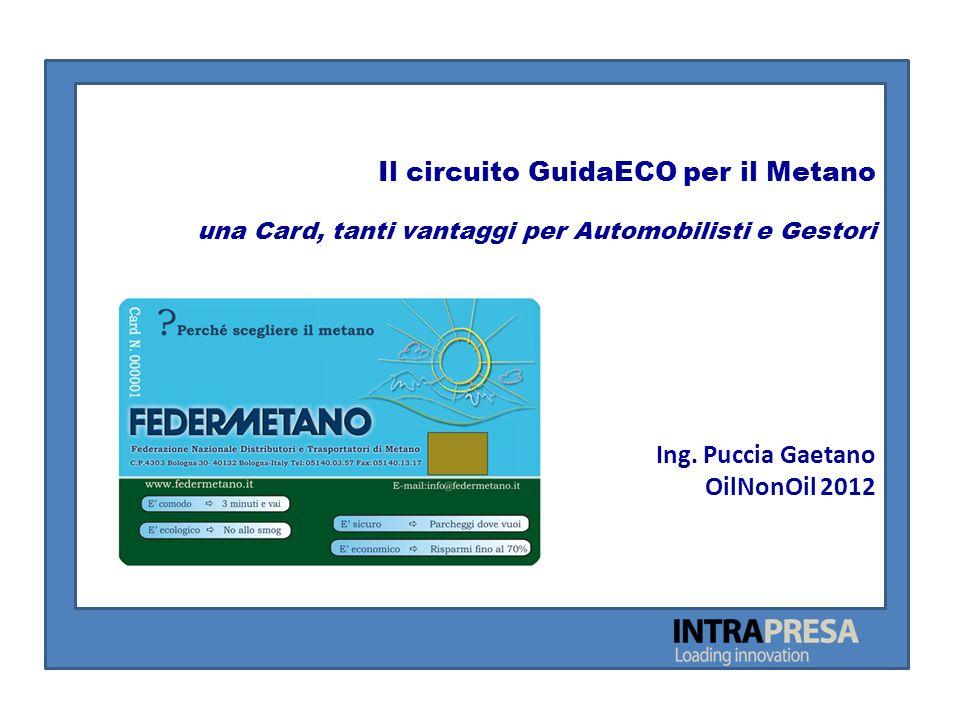 Il circuito GuidaECO per il Metano