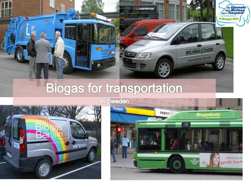 Biogas for transportation