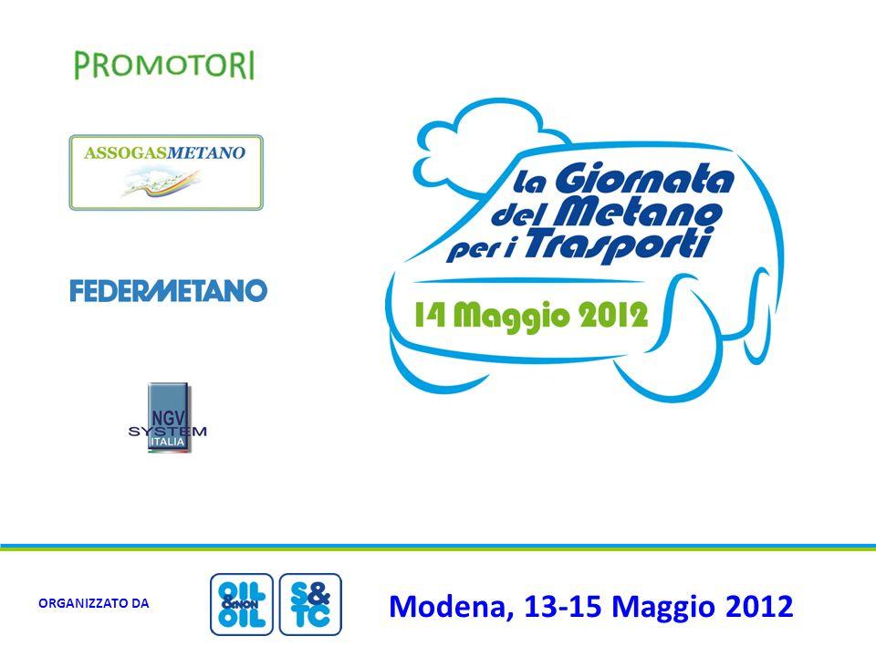PROMOTORI Modena, 13-15 Maggio 2012 ORGANIZZATO DA