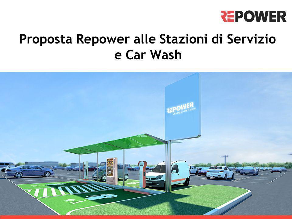 Proposta Repower alle Stazioni di Servizio e Car Wash