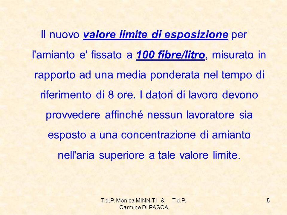 T.d.P. Monica MINNITI & T.d.P. Carmine DI PASCA