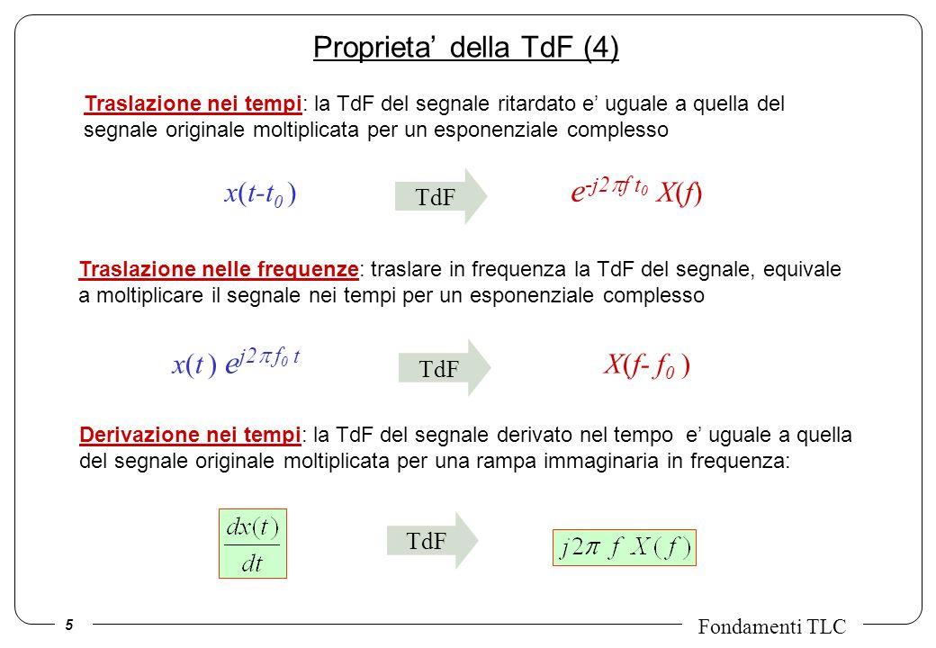 Proprieta' della TdF (4)