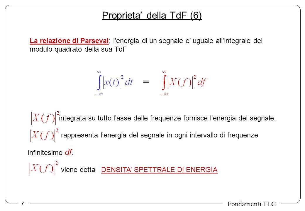 Proprieta' della TdF (6)