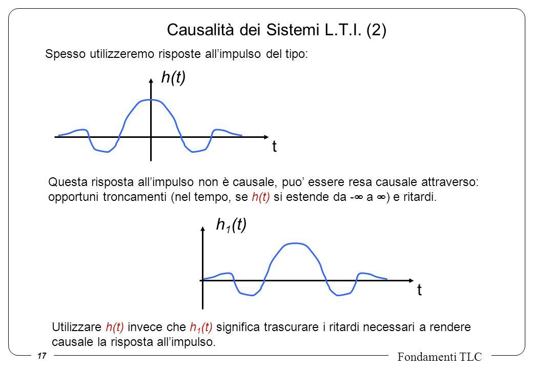 Causalità dei Sistemi L.T.I. (2)