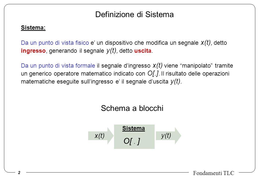 Definizione di Sistema