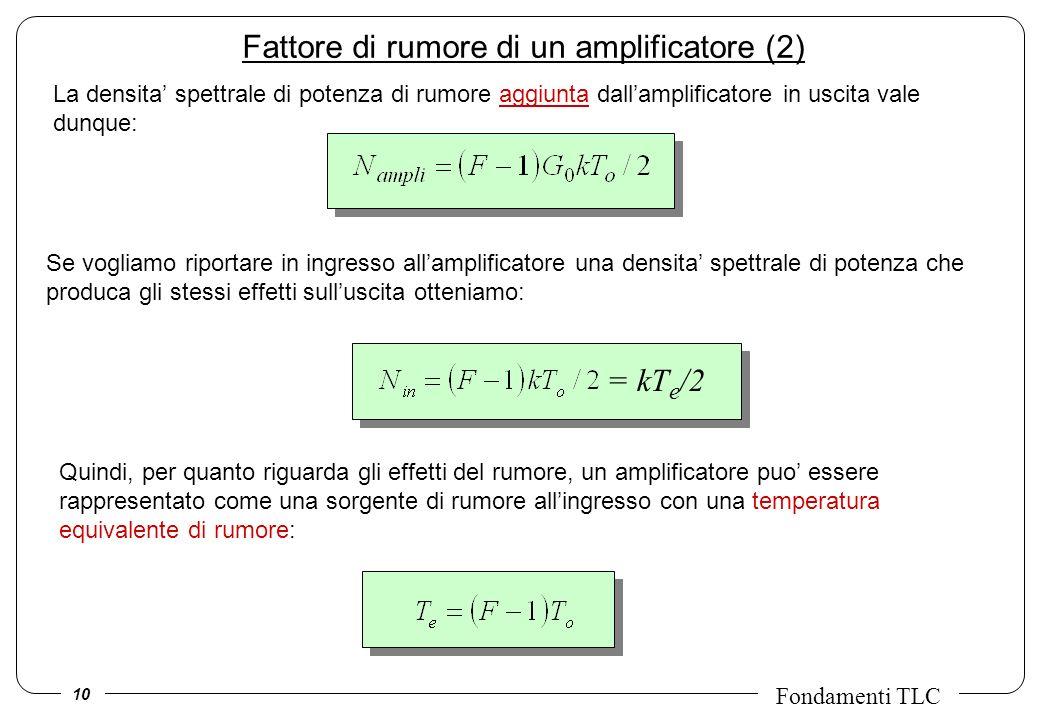 Fattore di rumore di un amplificatore (2)