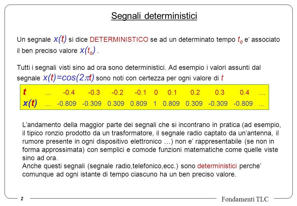 Segnali deterministici