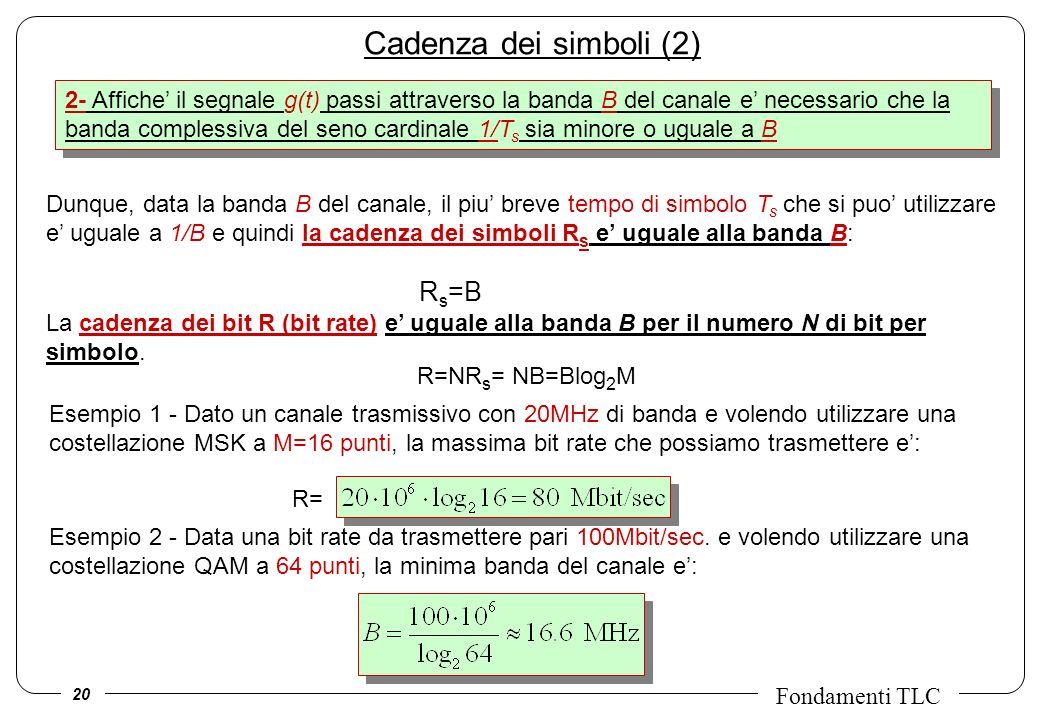 Cadenza dei simboli (2)