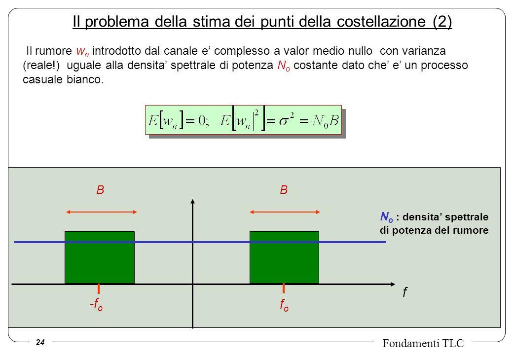 Il problema della stima dei punti della costellazione (2)