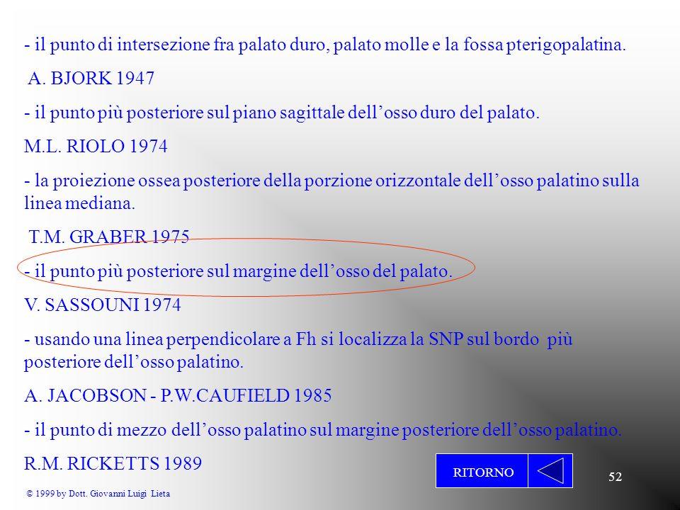 © 1999 by Dott. Giovanni Luigi Lieta
