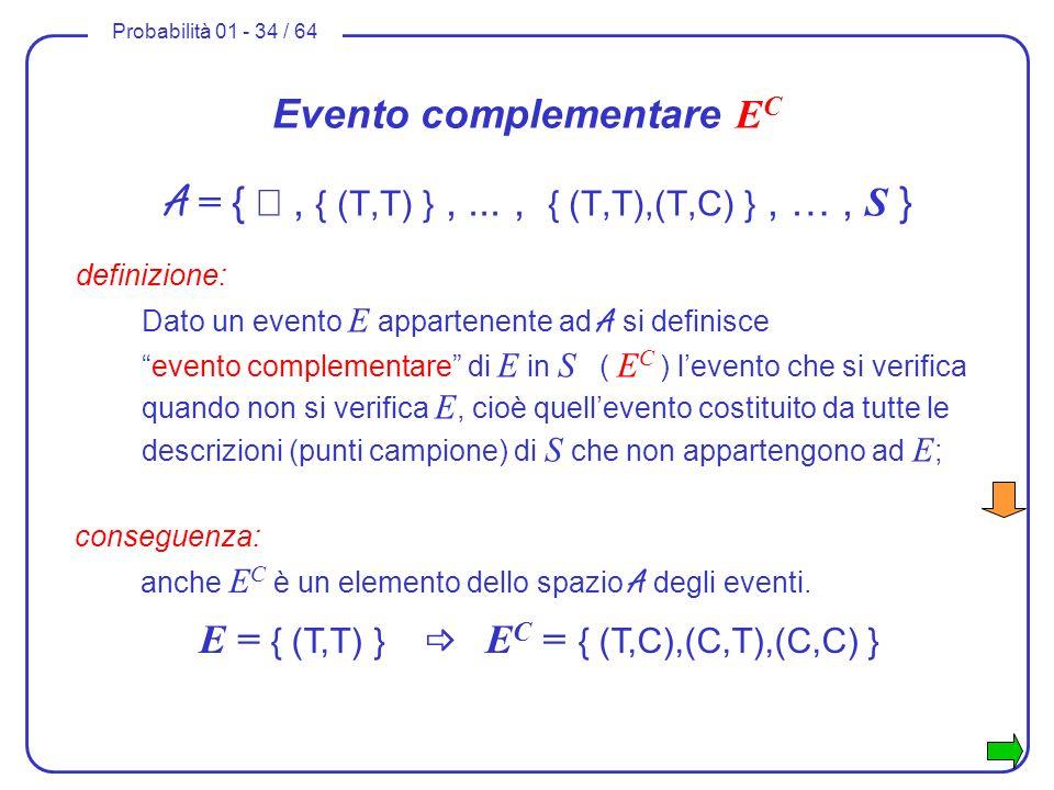 Evento complementare EC