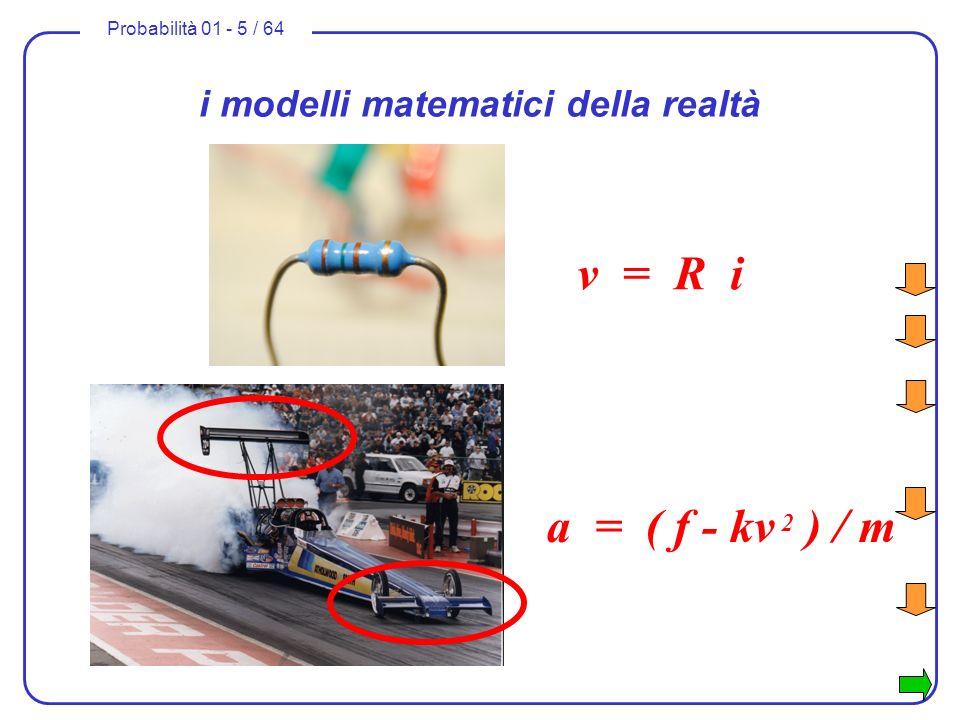 i modelli matematici della realtà