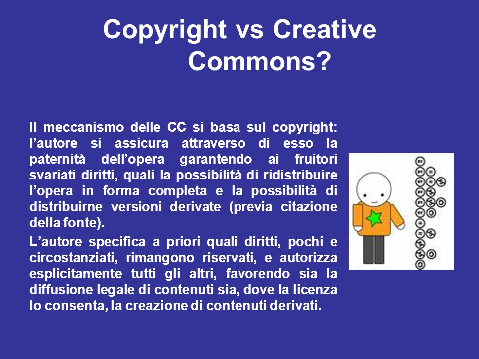 Copyright vs Creative Commons