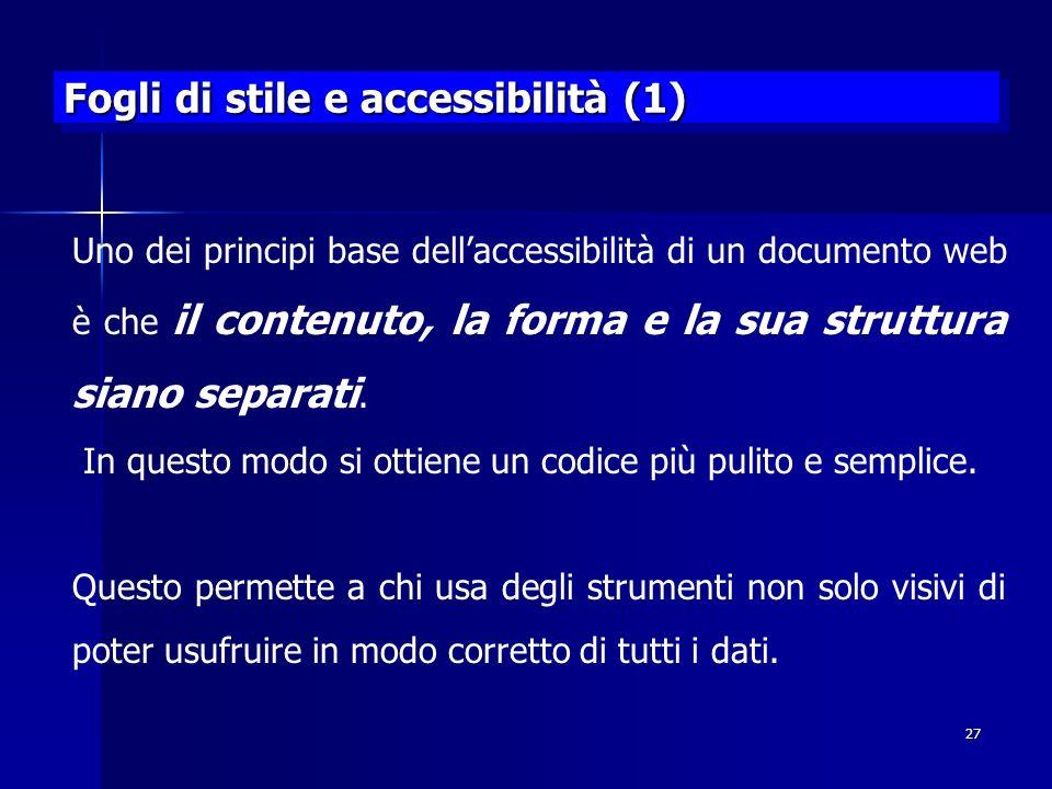 Fogli di stile e accessibilità (1)