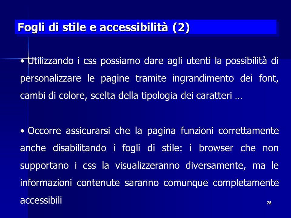 Fogli di stile e accessibilità (2)