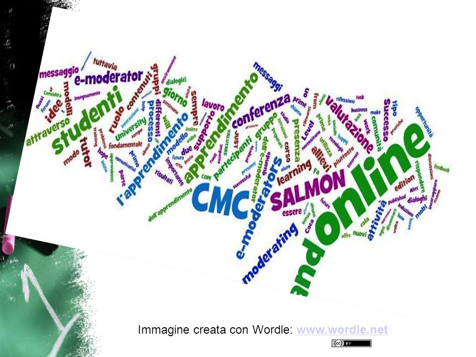 Immagine creata con Wordle: www.wordle.net