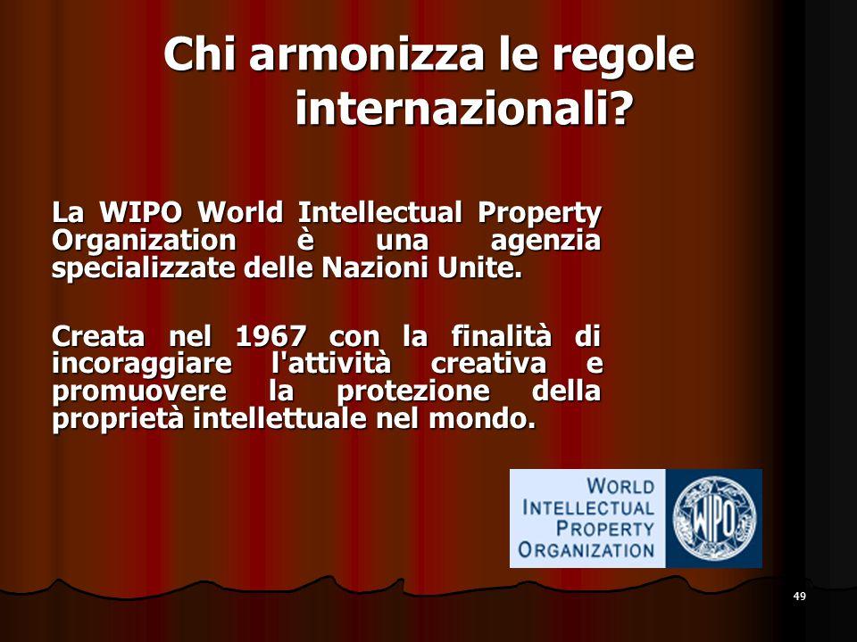 Chi armonizza le regole internazionali