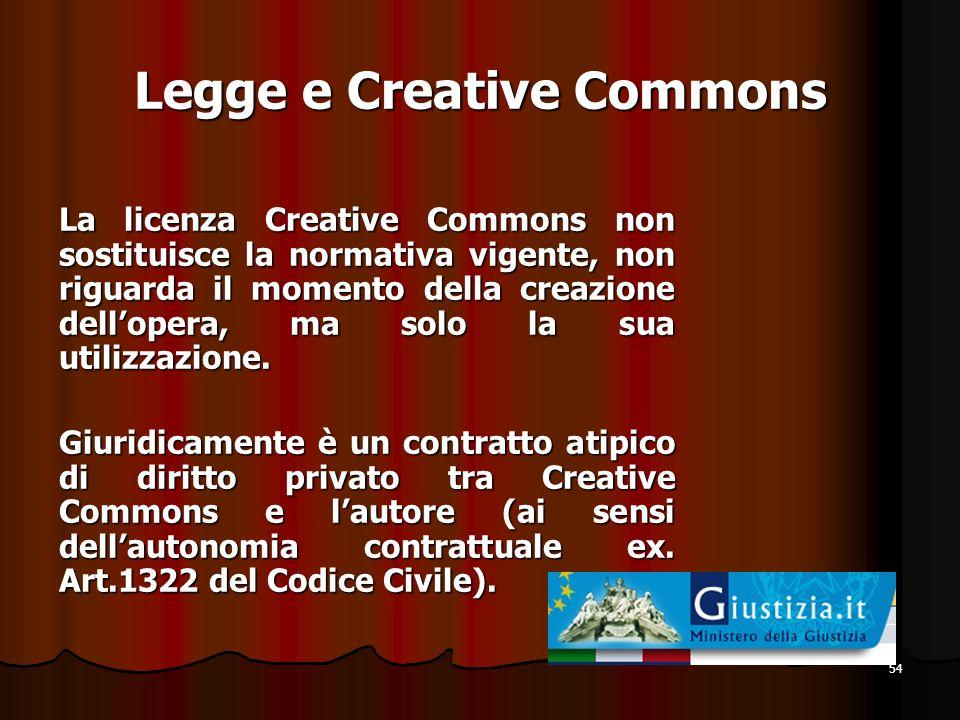 Legge e Creative Commons