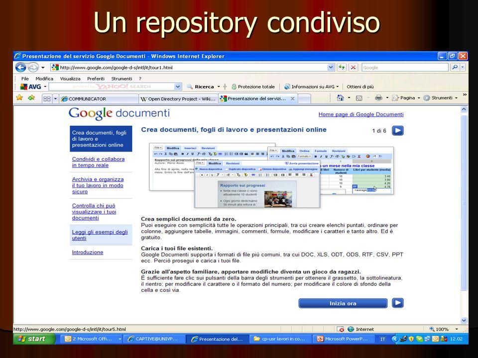 Un repository condiviso