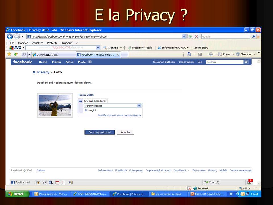 E la Privacy