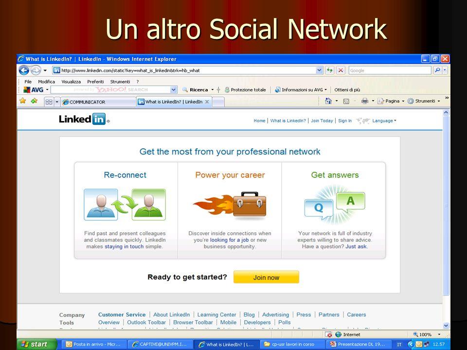 Un altro Social Network