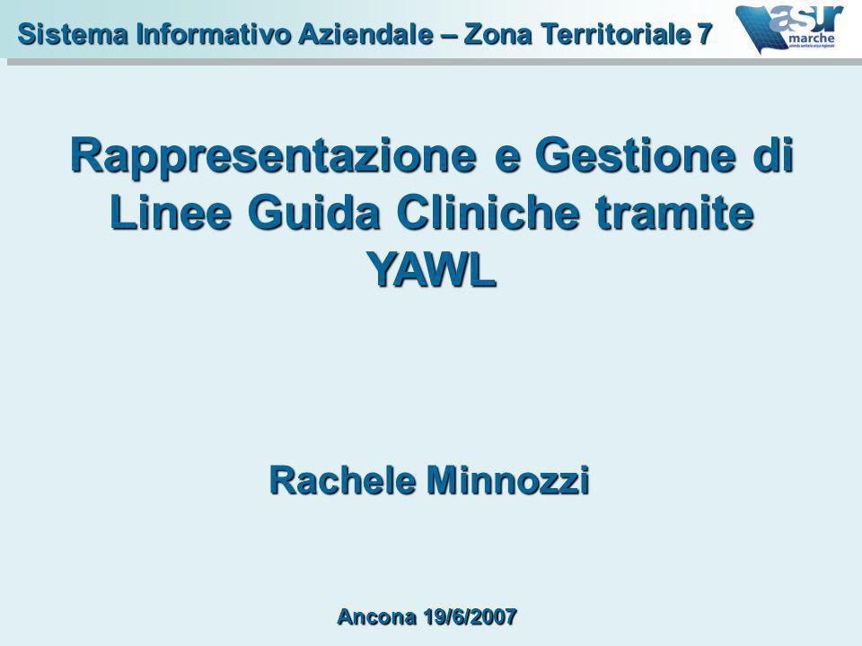Rappresentazione e Gestione di Linee Guida Cliniche tramite YAWL