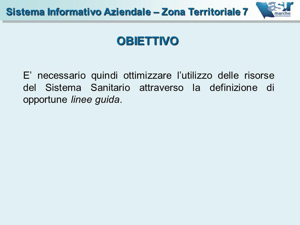 OBIETTIVO Sistema Informativo Aziendale – Zona Territoriale 7