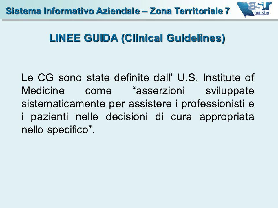 LINEE GUIDA (Clinical Guidelines)