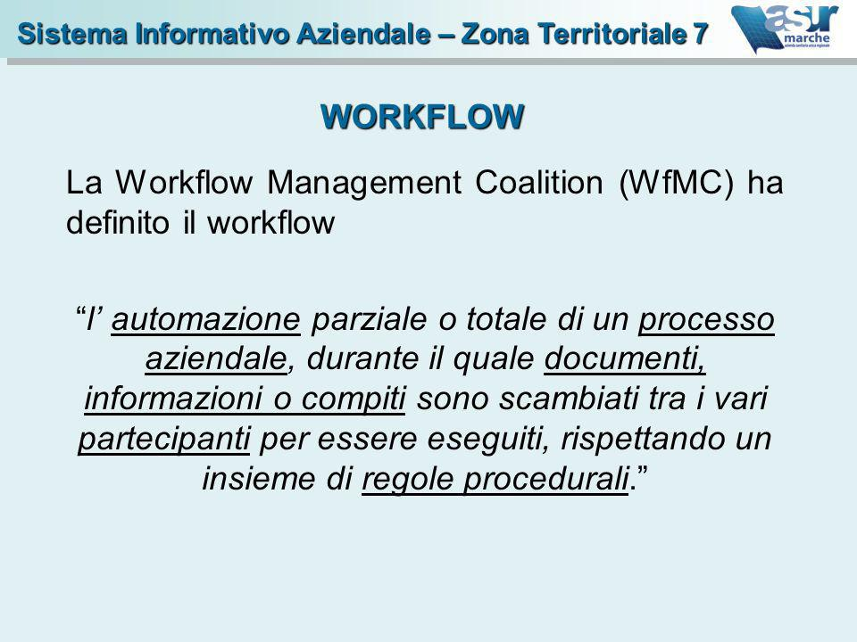 La Workflow Management Coalition (WfMC) ha definito il workflow