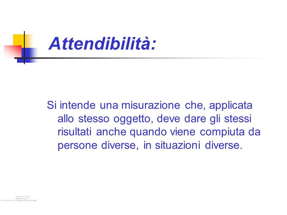 Attendibilità: