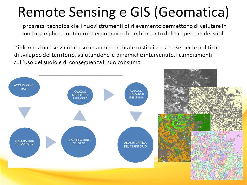 Remote Sensing e GIS (Geomatica)