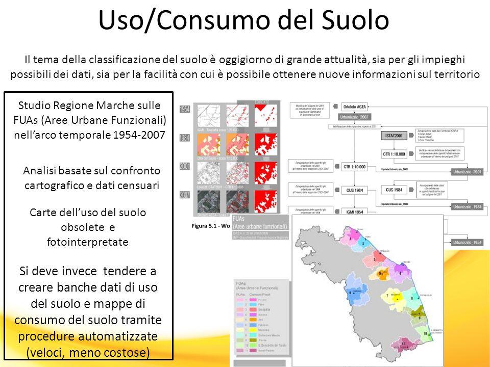 Uso/Consumo del Suolo