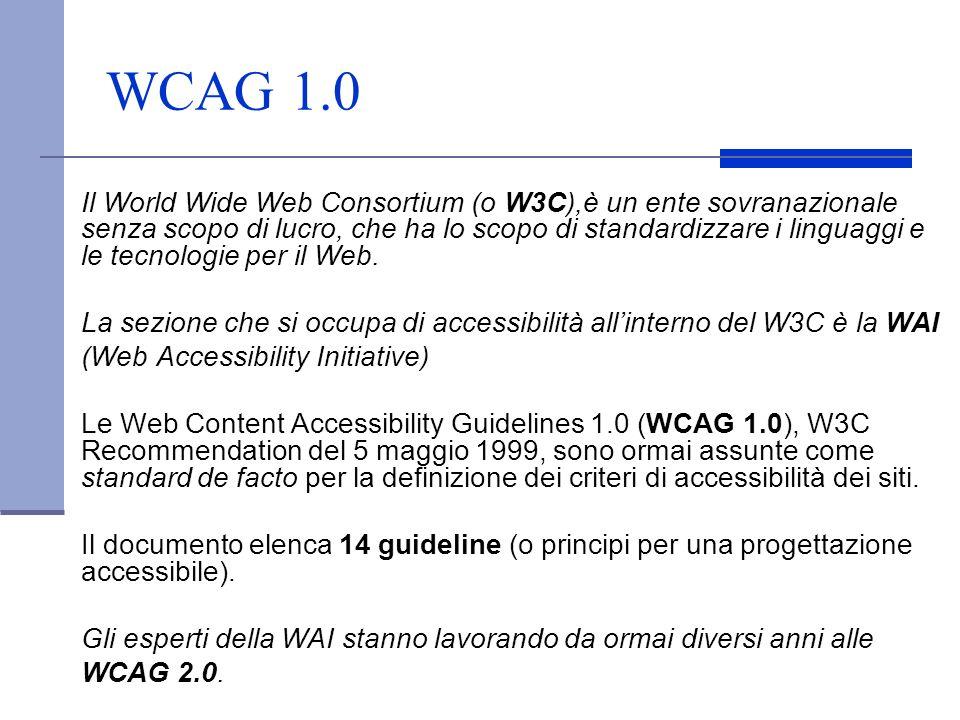 WCAG 1.0