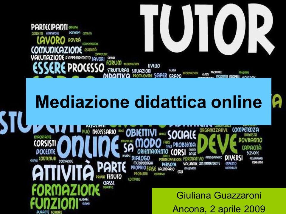 Mediazione didattica online