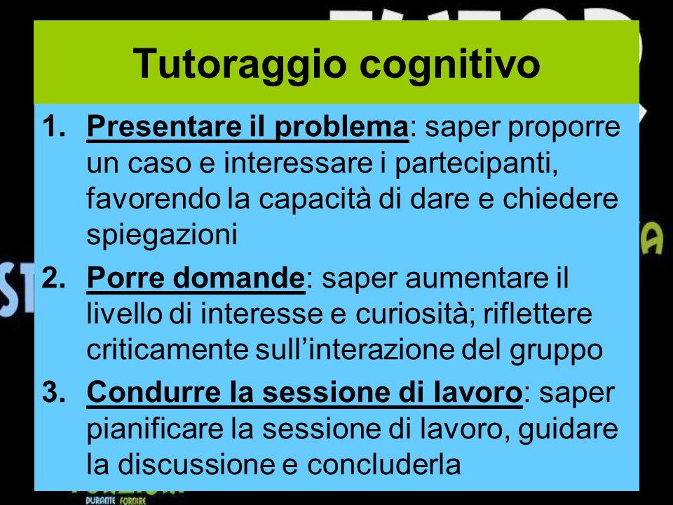 Tutoraggio cognitivo