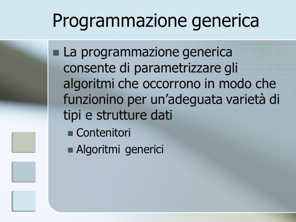 Programmazione generica