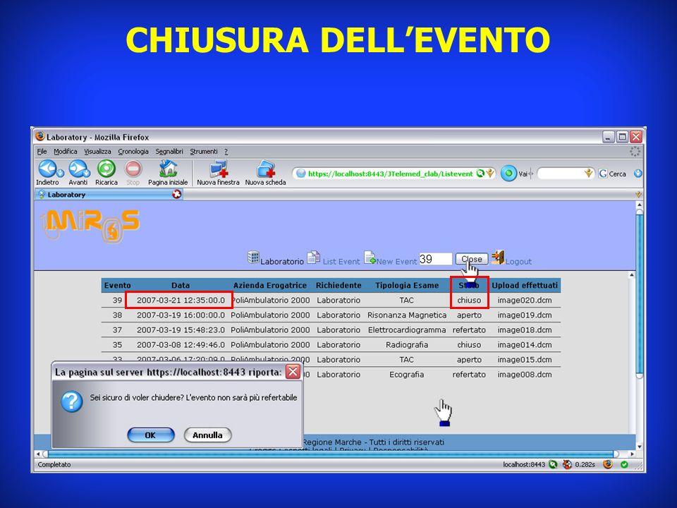 CHIUSURA DELL'EVENTO 39