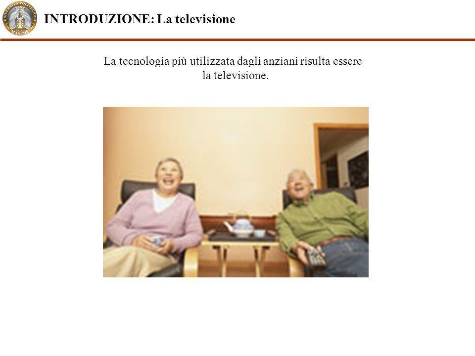 La tecnologia più utilizzata dagli anziani risulta essere