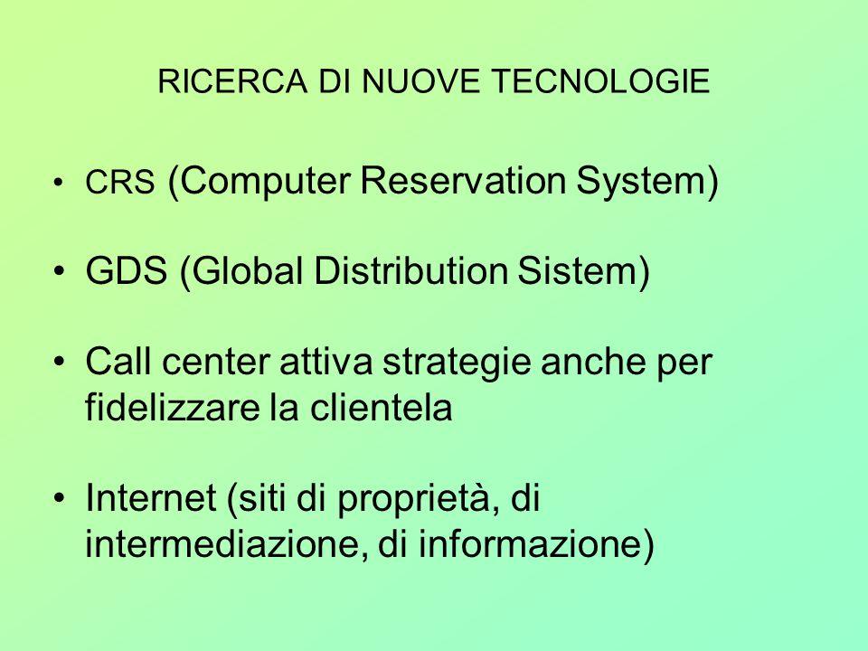 RICERCA DI NUOVE TECNOLOGIE