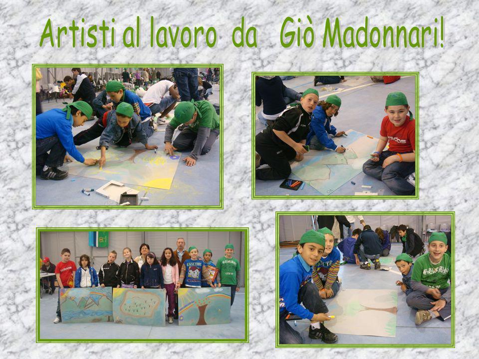 Artisti al lavoro da Giò Madonnari!